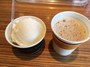 ミルクアイス&コーヒー