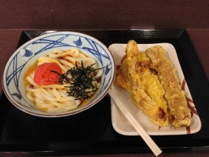 丸亀製麺のいつものやつ