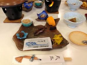 青森県の形のお皿